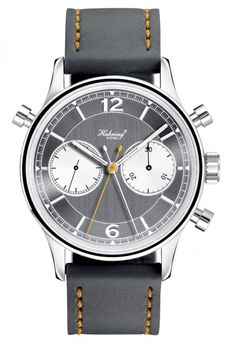 "Habring ""Doppel 2.0"" -- made in Austria by the man who invented IWC's split-seconds chronograph movement!"