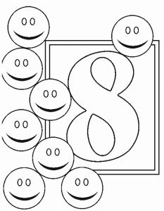 number 4 coloring pages printable crafts printabes just print color and cut pinterest printable letters numbers and coloring books - Coloring Pages Letters Numbers