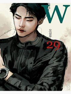 Lee Jong Suk, Jong Hyuk, Lee Hyun, Hyun Suk, Ver Drama, Drama Film, Drama Movies, W Two Worlds Art, Between Two Worlds
