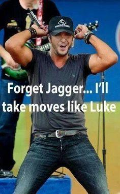 Luke Bryan...mmmmm
