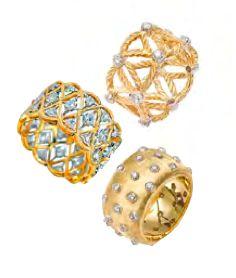 Opulent jewels and stunning silverware - Buccellati   FALL 2012