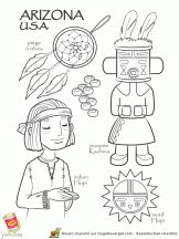 Arizona Native American to color School Coloring Pages, Colouring Pages, Adult Coloring Pages, Coloring Books, Kids Colouring, American Indians, Native American, World Geography, World Crafts