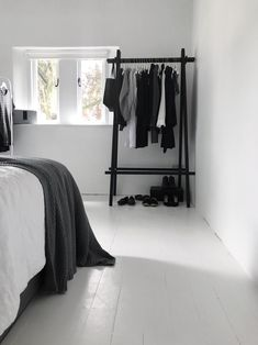 Home Page - Jessica Rose Williams | minimalist bedroom | white painted floorboards