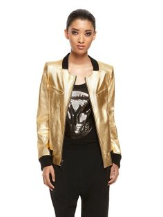 Official site and Online Store Golden Goddess, Online Clothing Stores, Donna Karan, Retail Therapy, Latest Trends, Bomber Jacket, Leather Jacket, Style Inspiration, Chic