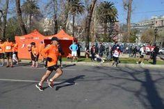 Nuestro socio Gaetano Abiuso en los últimos metros de la Half Marathon de Scotiabank 2012, la primera edición. #RunForLife