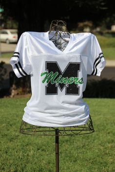 Football Jersey Football Mom Spiritwear Boyfriend by flyinshirer
