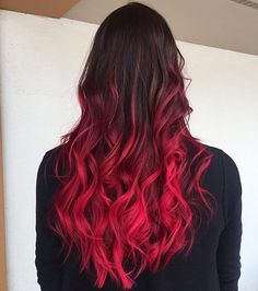 Pin by JayCee Rose Buckmaster on Hair in 2019 Balayage Hair, Ombre Hair, Pulp Riot Hair Color, Fierce Women, Pinterest Hair, Red Hair Color, Grunge Hair, Hair Inspo, New Hair
