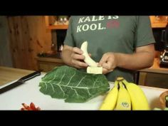 Brad's Raw Foods | Brad's Raw Recipes: Banana Boat Bites, interesting collards idea