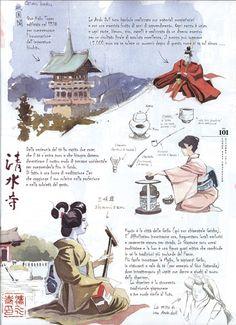 Federico Gemma - Wildlife Artist: Il taccuino di Kyoto su Traveller Condé Nast