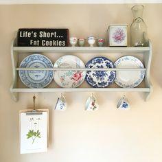 #tallrikshylla #inredning #kök #kitchen