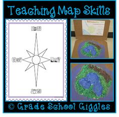 Hands On Map Skills: Cross Curricular Project to Teach Map Skills ...