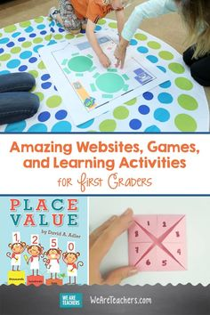If you're looking for great first grade websites for practicing reading, math, science, and social studies skills, look no further! First Grade Reading Games, First Grade Activities, Word Work Activities, Social Studies Activities, Teaching First Grade, First Grade Teachers, Hands On Activities, Science Activities, Teaching Math