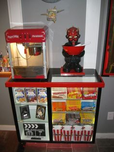 home theater consession stand | Concession Stand