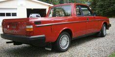 1984 Volvo 240 Pickup Truck xtra Nice