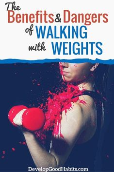 Is it safe to walk with weights? what are the benefits, advantages and drawbacks of walking with weights. Walking For Health, Walking Exercise, Walking Workouts, Group Fitness, Health And Fitness Tips, Fitness Blogs, Fitness Goals, Walking With Weights, Benefits Of Walking
