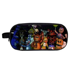 Five Nights At Freddy`s Pencil Holder Chica Bonnie Fazbear Freddy Case School Children Bag Kids Cases Material Escolar Lapices