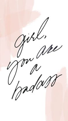yes you are! girl power, inspiration, quote, inspirational quote, girl quote,