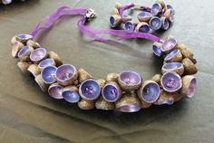 Collana ghiande, acorn necklace