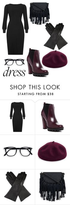 """""""Paris"""" by jinxr2m ❤ liked on Polyvore featuring Charles David, Kathy Jeanne and Dents"""