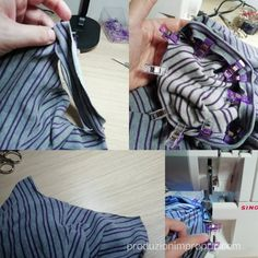 applicare il bordino Suits, Sewing, Jersey, Hobby, Dresses, Fashion, Blouse, Love, Vestidos