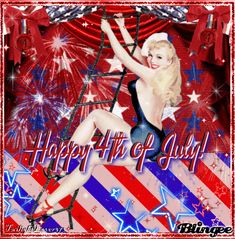 Happy 4th of July! Vintage Pin-up Sailor by ♥TwilightLover373♥