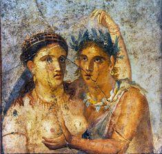17 Fotos: Paseo por las pinturas y relieves sexuales de Pompeya