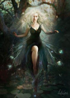 Kiralena - Sister of Lumine - Goddess of Woodland Realms