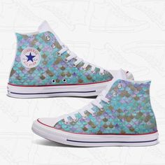 a6faae323df3 Womens Custom Shoes - Converse All Star Chuck Taylors