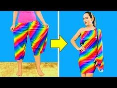 30 Brilliant Clothes Hacks And Fashion Tips For Girls - YouTube