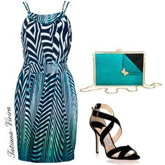 A fashion look from September 2014 featuring Jimmy Choo sandals and Flaska Laverne clutches. Browse and shop related looks.