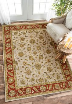 Rugsville Vegetable dyes Beige Rust Wool 10401 Rug