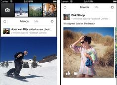 Download Facebook Camera App for iOS, Facebook launches Instagram-like camera app, called Facebook Camera app for iOS. Facebook Camera app will make sharing of photos on Facebook faster. Users can also see their friends' latest photos at one place.