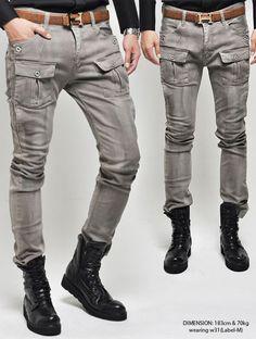 Men s Skinny Cargo Jeans Online a706c4428c17