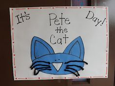 Pete the Cat day ideas
