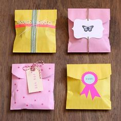 Glassine Lined Bags | BLANK supplies & inspiration