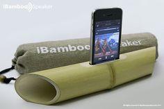 iBamboo mi siguiente amplificador pasivo para iPhone :D
