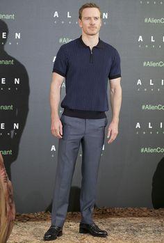 The Best Dressed Men Of The Week: Michael Fassbenderat theAlien: Covenant Screening, Madrid. #bestdressedmen #michaelfassbender