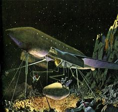 1950s Space Art
