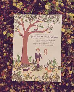 Lovely wedding card