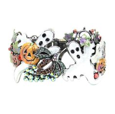 Pumpkin Patch Party Cuff Bracelet