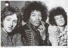 "A fantastic portrait poster of the Jimi Hendrix Experience - Mitch Mitchell, Jimi, and Noel Redding - in London in 1967! Ships fast. 24x33 inches. ""Experience"" the rest of our amazing selection of Jim"