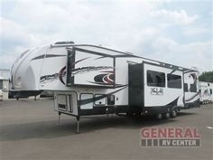 Used 2013 Forest River RV XLR Thunderbolt 35X14 Toy Hauler Fifth Wheel at General RV | North Canton, OH | #126230