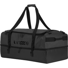 Incase Tracto Split Duffel 90 Bag | Black