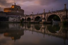 Castel Sant'Angelo Reflection by Flavio Chioda on 500px