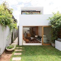Ide desain rumah di lahan sempit