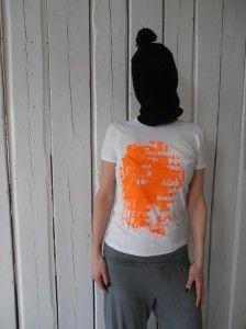 Shirt Farbbeutel orange von s.wert http://www.s-wert-design.de