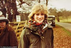 Diana flashes a smile for the camera in one of the never-before-seen images, taken in the early In the background is believed to be Lady Sarah Chatto, daughter of Princess Margaret, who served as chief bridesmaid at the 1981 wedding of Charles and Diana Princess Diana Rare, Princess Diana Pictures, Princess Margaret, Royal Princess, Princess Of Wales, Princess Diana Daughter, Princess Charlotte, Lady Sarah Chatto, Lady Diana Spencer