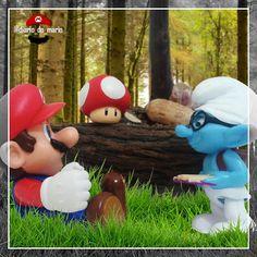 #mario #mariobros #game #gamer #games #videogame #marioworld #nintendo #bandai #fun #diversão #entretenimento #entertainment #kids #man #woman #bandainamco #figuarts #actionfigure #playstation #xbox #retro #woods #smurf #toad
