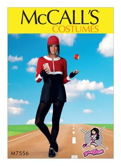 NEW: Yaya Han's Female Trainer Pattern Cosplays pokemon go Sewing Patterns For Kids, Mccalls Sewing Patterns, Clothing Patterns, Hunter Costume, Female Trainers, Costume Patterns, Princess Seam, Double Knitting, Rompers
