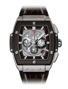 Hublot Spirit if Big Bang Titanium ceramic watch - Ref Patek Philippe, Audemars Piguet, Hublot Watches, Men's Watches, Fashion Watches, Omega, Hublot Classic Fusion, Titanium Watches, Men Accessories
